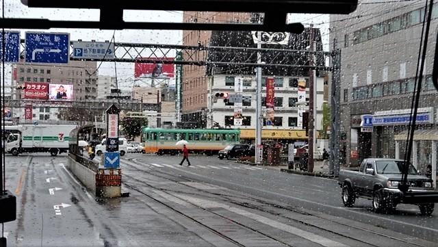 藤田八束の鉄道写真@高知の路面電車、日本最古の路面電車高知を走る、高知の路面電車は走行距離も日本一、とさでん交通・土佐電鉄_d0181492_23510500.jpg