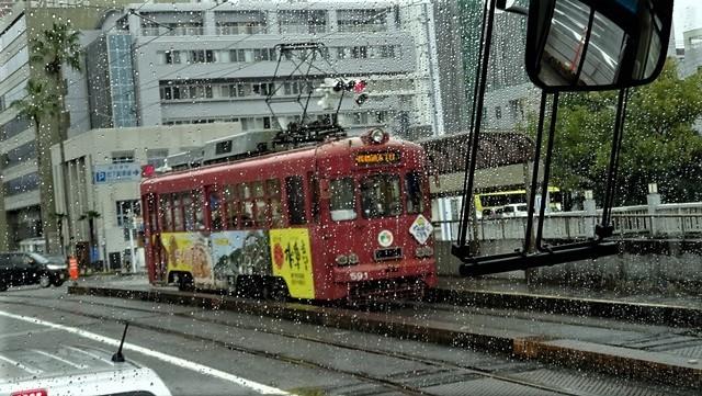 藤田八束の鉄道写真@高知の路面電車、日本最古の路面電車高知を走る、高知の路面電車は走行距離も日本一、とさでん交通・土佐電鉄_d0181492_23513690.jpg