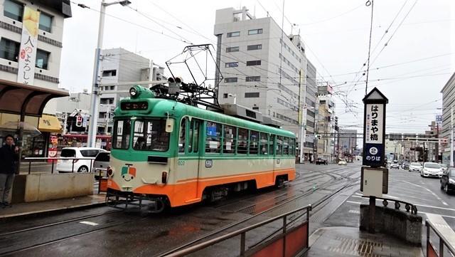藤田八束の鉄道写真@高知の路面電車、日本最古の路面電車高知を走る、高知の路面電車は走行距離も日本一、とさでん交通・土佐電鉄_d0181492_23524030.jpg