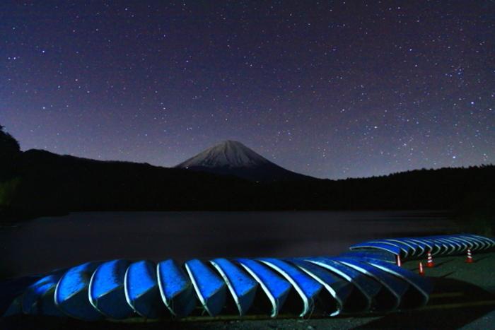 令和元年12月の富士 (2) 西湖の星空の富士_e0344396_22331550.jpg