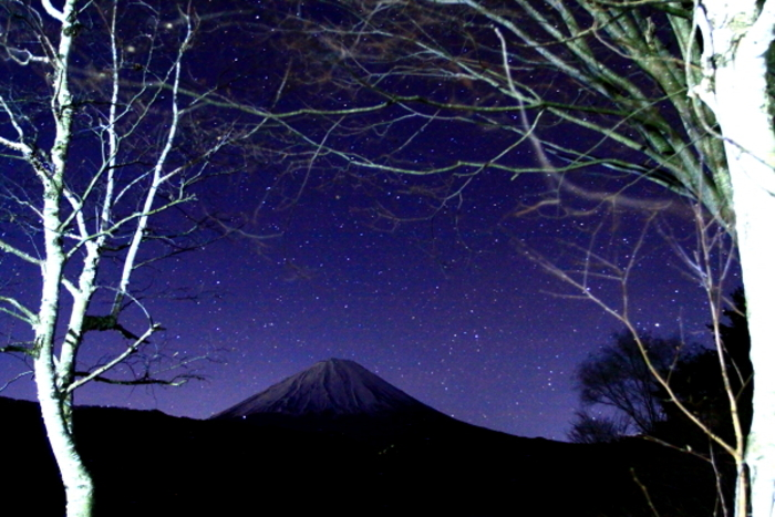 令和元年12月の富士 (2) 西湖の星空の富士_e0344396_22332426.jpg
