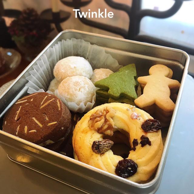 Winter Marche『Twinkle』X\'masクッキー缶&クグロフ_b0289601_12560757.jpg
