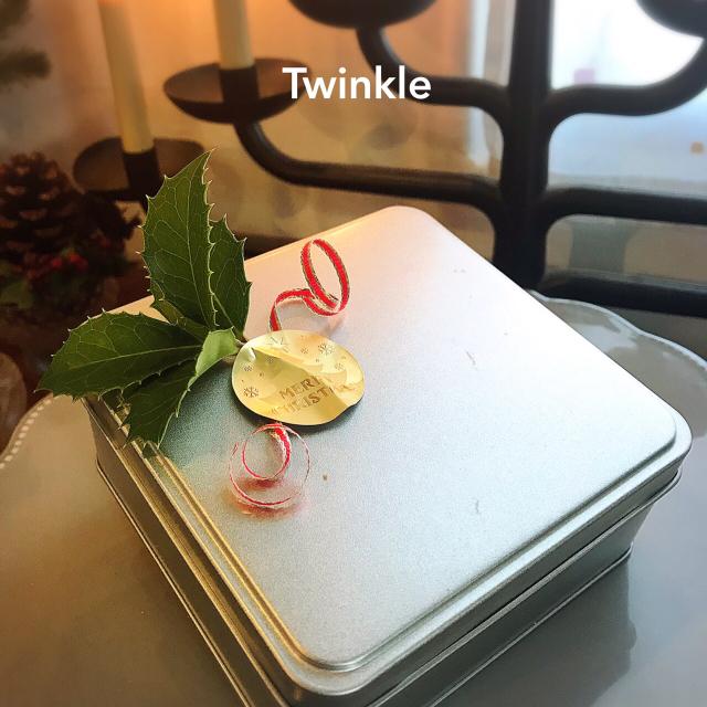 Winter Marche『Twinkle』X\'masクッキー缶&クグロフ_b0289601_12561232.jpg