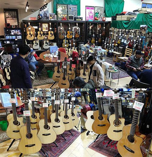 行ってきました! Yokoyama Guitars 「大試奏会」 2019_c0137404_21333311.jpg