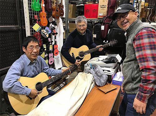 行ってきました! Yokoyama Guitars 「大試奏会」 2019_c0137404_21342088.jpg