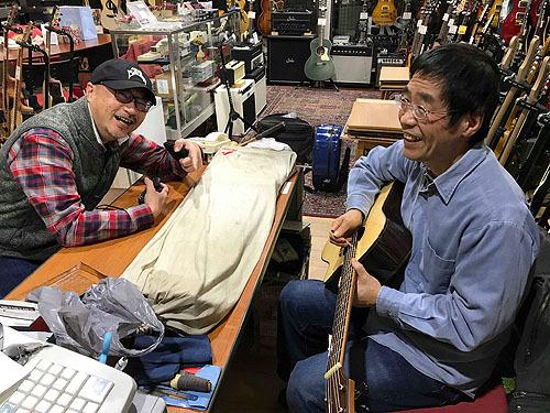 行ってきました! Yokoyama Guitars 「大試奏会」 2019_c0137404_21343477.jpg