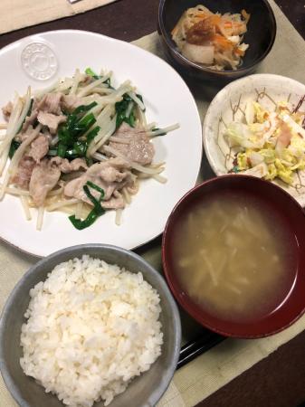 豚ニラもやし炒め_d0235108_20164301.jpg
