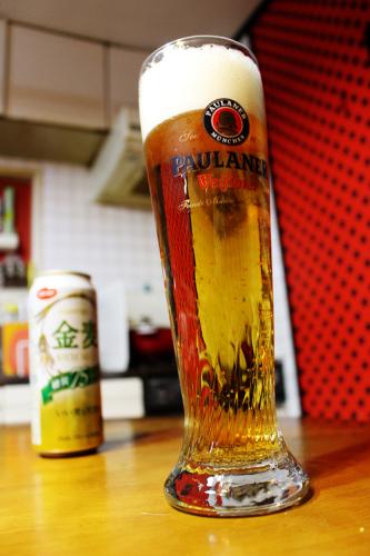 昨日もデカビールグラス_a0139912_11163059.jpg