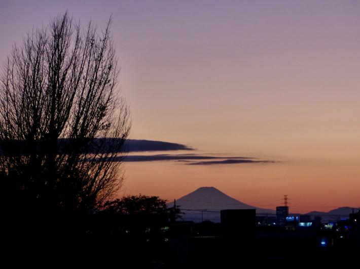 ヘルシーロードの紅葉風景と富士山_f0296312_18392360.jpg