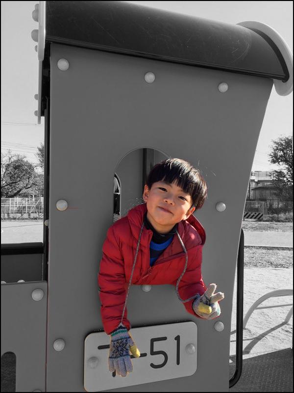 孫の写真で遊んでみました。_b0019313_16314269.jpg