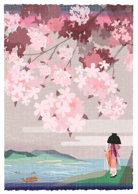 作品「oyagoeno sakura」_f0172313_02582179.jpg