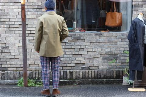 """世界一のシングルコート「Mackintosh by Francis Campelli」 \""""SINGLE BRESTED COAT\"""" ご紹介_f0191324_08124248.jpg"""