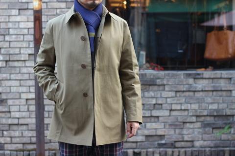 """世界一のシングルコート「Mackintosh by Francis Campelli」 \""""SINGLE BRESTED COAT\"""" ご紹介_f0191324_08125278.jpg"""