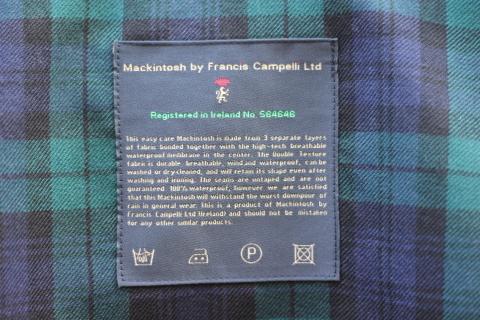 """世界一のシングルコート「Mackintosh by Francis Campelli」 \""""SINGLE BRESTED COAT\"""" ご紹介_f0191324_08141486.jpg"""