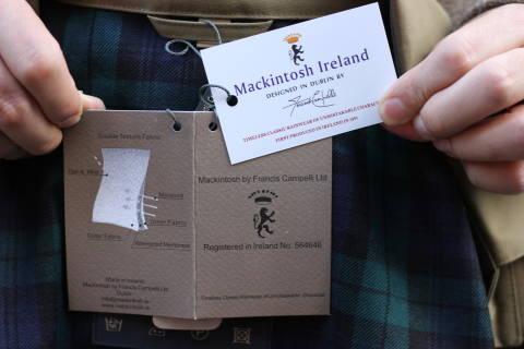 """世界一のシングルコート「Mackintosh by Francis Campelli」 \""""SINGLE BRESTED COAT\"""" ご紹介_f0191324_08142160.jpg"""
