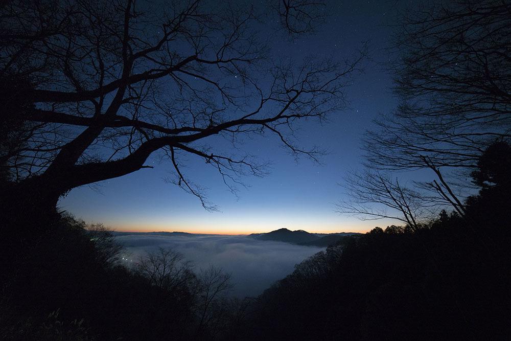 鎌倉山からの雲海_f0324026_18564480.jpg