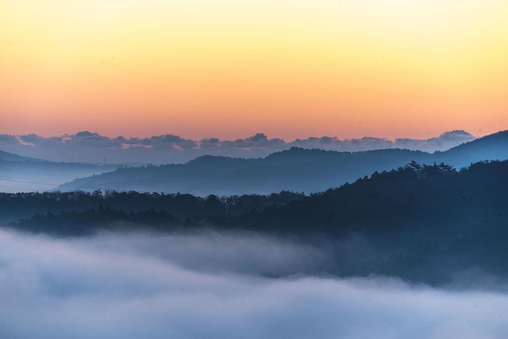 鎌倉山からの雲海_f0324026_18592613.jpg