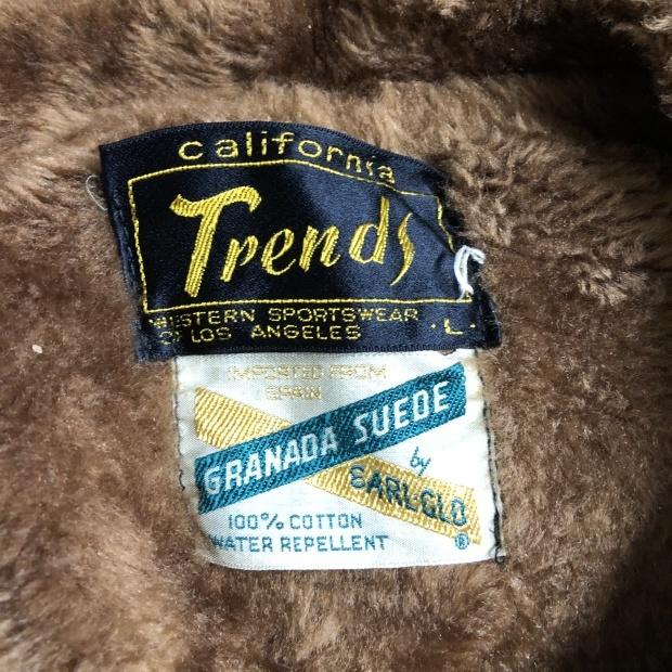 60's〜70's  California Trends スウェードジャケット_c0355834_19000786.jpg