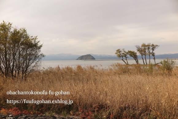 冬の琵琶湖&休日の簡単御飯_c0326245_12445625.jpg
