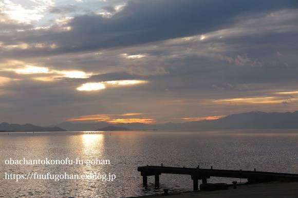冬の琵琶湖&休日の簡単御飯_c0326245_12454540.jpg