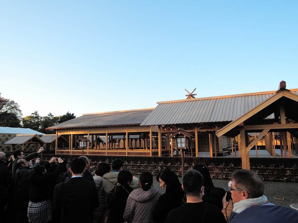 ある風景:皇居乾通り一般公開/大嘗宮一般参観_a0384046_21325139.jpg