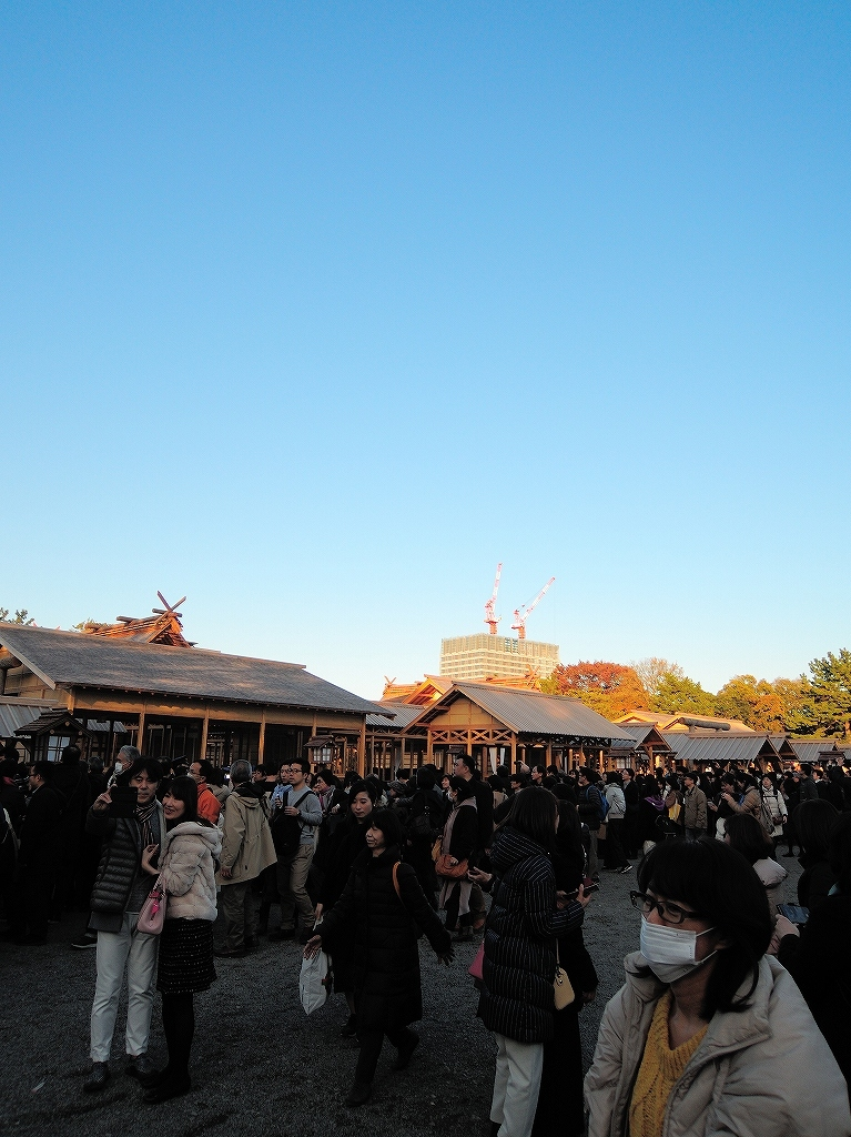 ある風景:皇居乾通り一般公開/大嘗宮一般参観_a0384046_21325911.jpg
