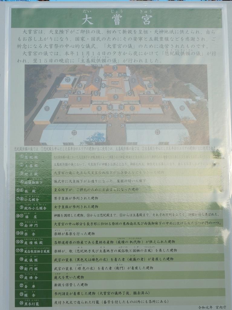 ある風景:皇居乾通り一般公開/大嘗宮一般参観_a0384046_21330642.jpg