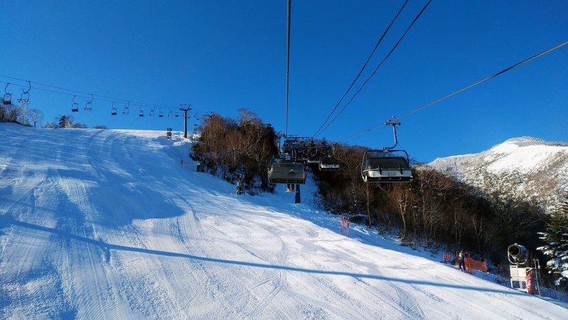 2019年12月9日 朝のかぐらスキー場の様子_e0037849_09261891.jpg