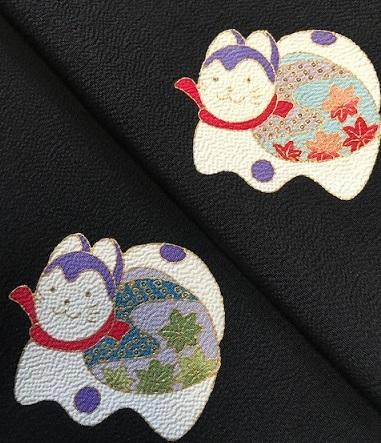 明日の営業・新春向商品・岡重お雛様&玩具小紋に帯三本。_f0181251_18595784.jpg