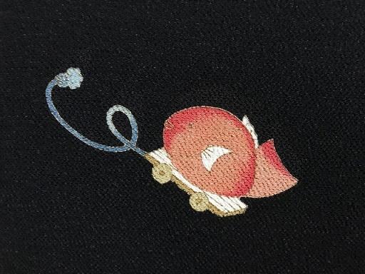 明日の営業・新春向商品・岡重お雛様&玩具小紋に帯三本。_f0181251_19274462.jpg