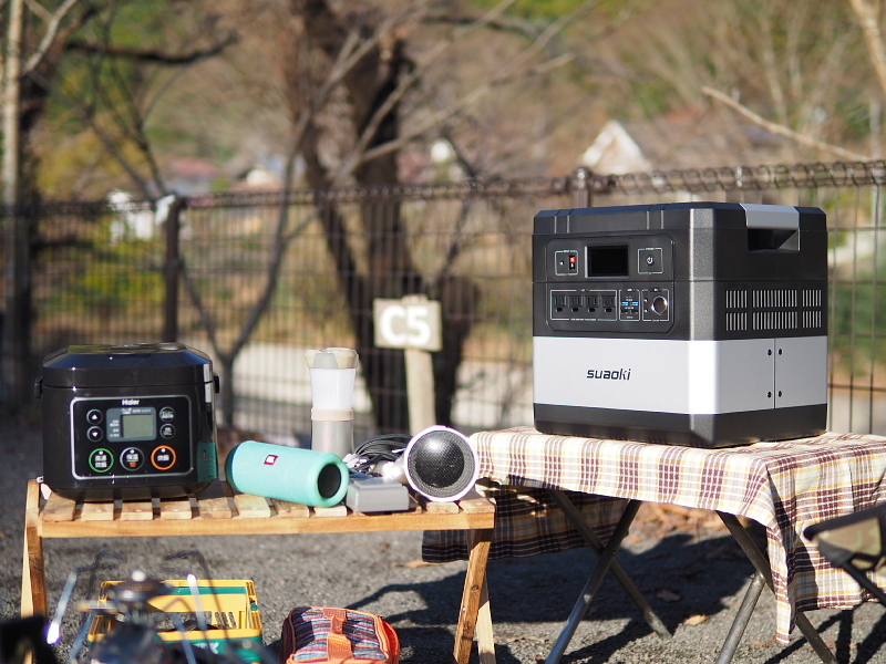 【 PR 】UPS搭載ポータブル電源「suaoki」G1000 をアウトドアで使ってみた_b0008655_10431975.jpg