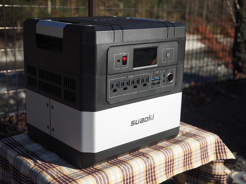 【 PR 】UPS搭載ポータブル電源「suaoki」G1000 をアウトドアで使ってみた_b0008655_10465214.jpg