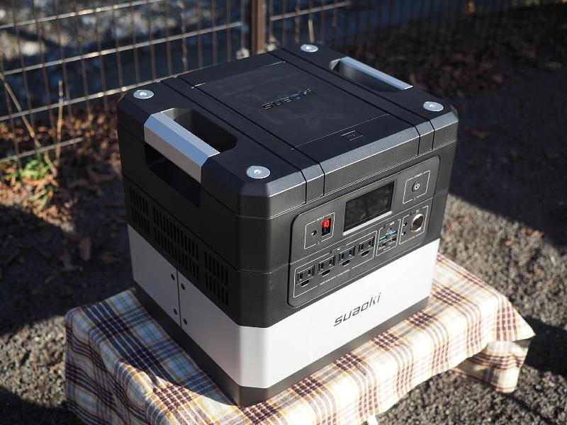 【 PR 】UPS搭載ポータブル電源「suaoki」G1000 をアウトドアで使ってみた_b0008655_10474063.jpg
