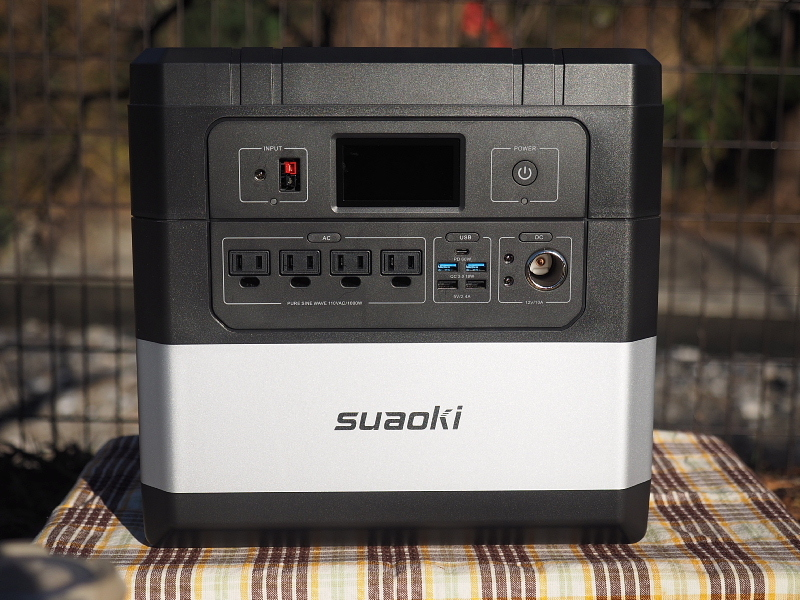 【 PR 】UPS搭載ポータブル電源「suaoki」G1000 をアウトドアで使ってみた_b0008655_10480610.jpg