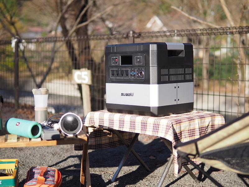 【 PR 】UPS搭載ポータブル電源「suaoki」G1000 をアウトドアで使ってみた_b0008655_10541755.jpg