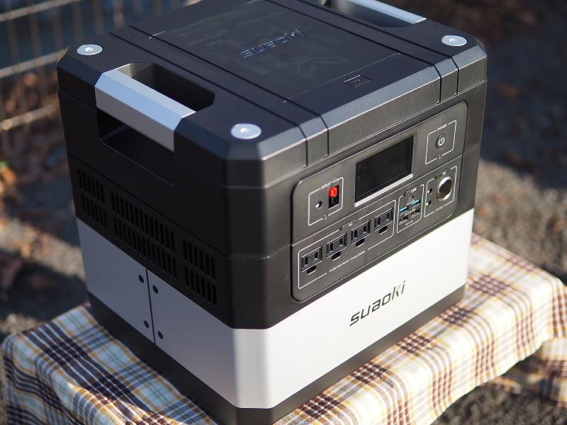【 PR 】UPS搭載ポータブル電源「suaoki」G1000 をアウトドアで使ってみた_b0008655_11014186.jpg