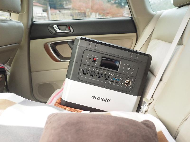 【 PR 】UPS搭載ポータブル電源「suaoki」G1000 をアウトドアで使ってみた_b0008655_11112244.jpg