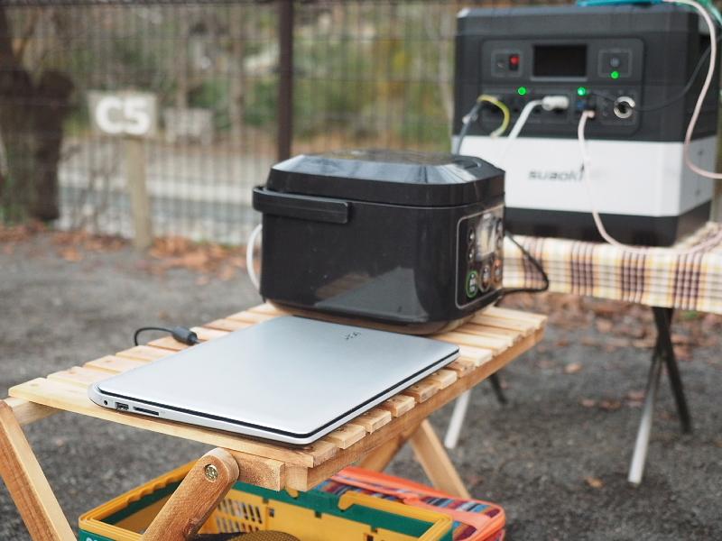 【 PR 】UPS搭載ポータブル電源「suaoki」G1000 をアウトドアで使ってみた_b0008655_11242891.jpg