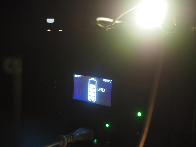 【 PR 】UPS搭載ポータブル電源「suaoki」G1000 をアウトドアで使ってみた_b0008655_11455086.jpg