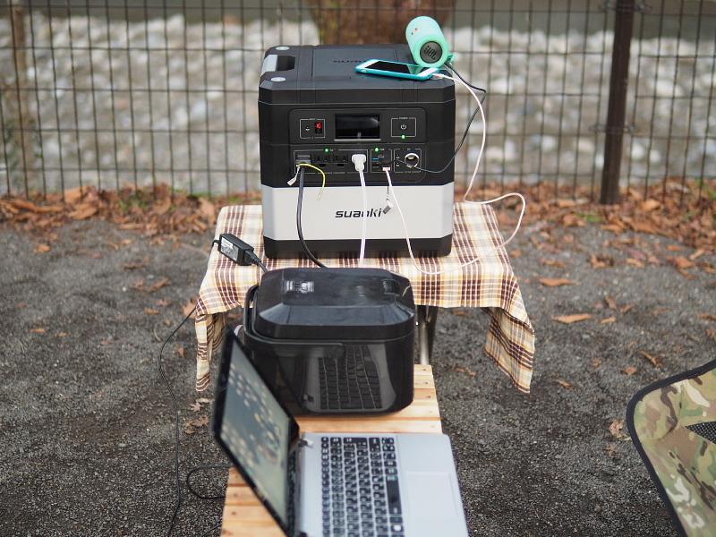 【 PR 】UPS搭載ポータブル電源「suaoki」G1000 をアウトドアで使ってみた_b0008655_11491838.jpg