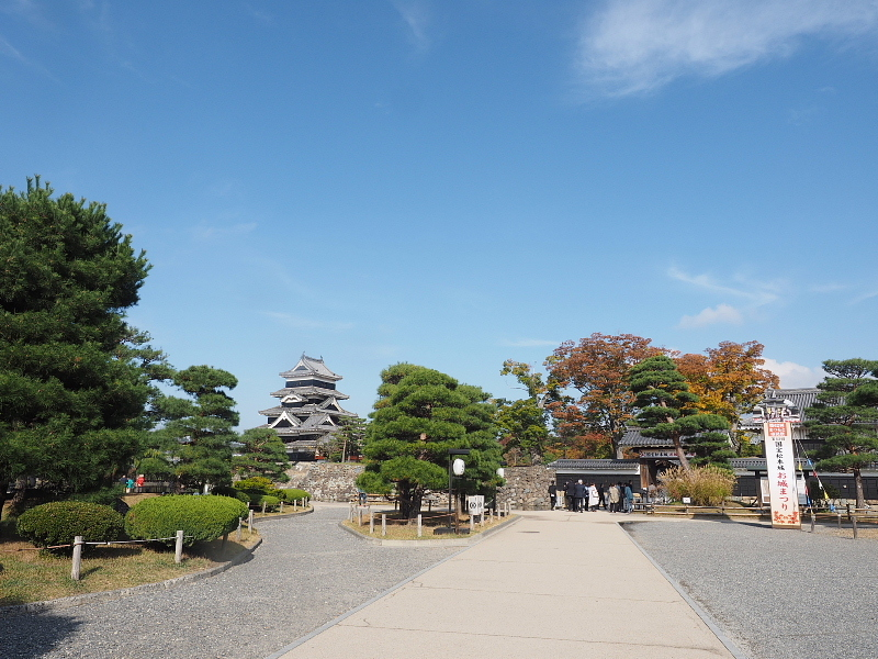 【Photo】早朝の松本城_b0008655_17433658.jpg