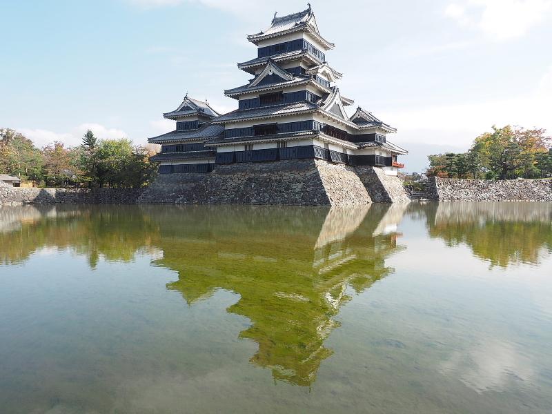 【Photo】早朝の松本城_b0008655_17482405.jpg