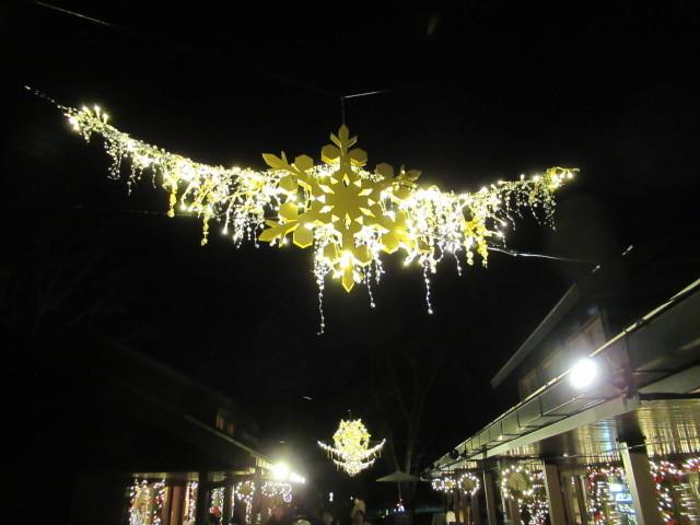 「幸せが灯る街」ハルニレテラスのクリスマス * 幸せのやどりぎ点灯式♪_f0236260_00405022.jpg