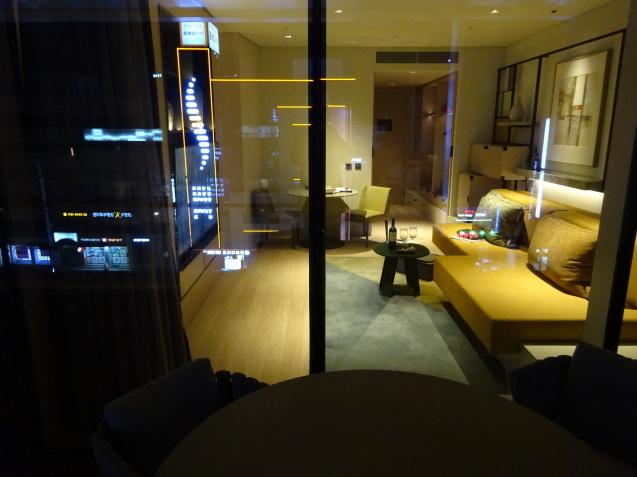 たった26時間のソウル (4)「アンダーズソウル江南」の客室の続き、プール、フィットネス_b0405262_23124654.jpg
