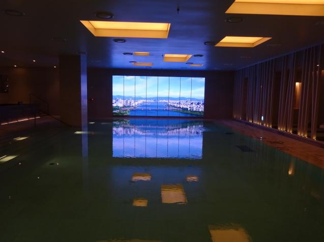 たった26時間のソウル (4)「アンダーズソウル江南」の客室の続き、プール、フィットネス_b0405262_23275755.jpg