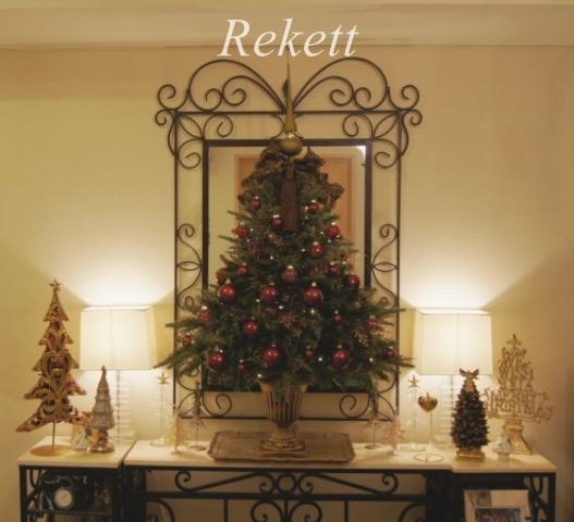 お客様オーダーアンティーク調クリスマスツリー完成致しました~❤_f0029571_23181276.jpg