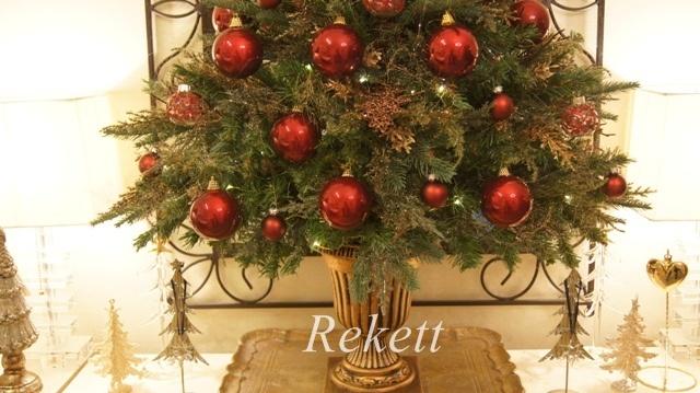お客様オーダーアンティーク調クリスマスツリー完成致しました~❤_f0029571_23224650.jpg
