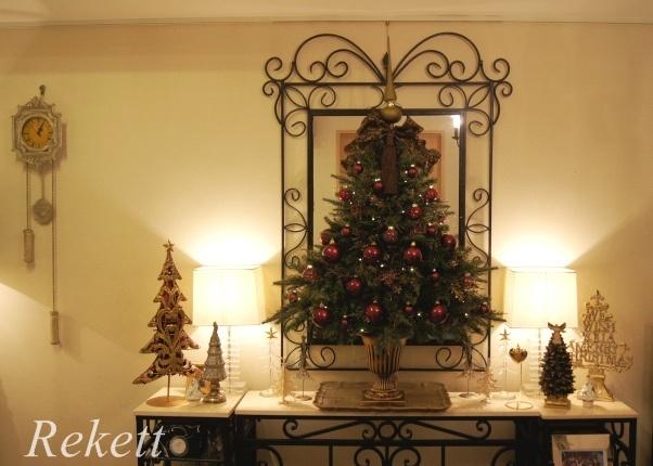 お客様オーダーアンティーク調クリスマスツリー完成致しました~❤_f0029571_23251602.jpg