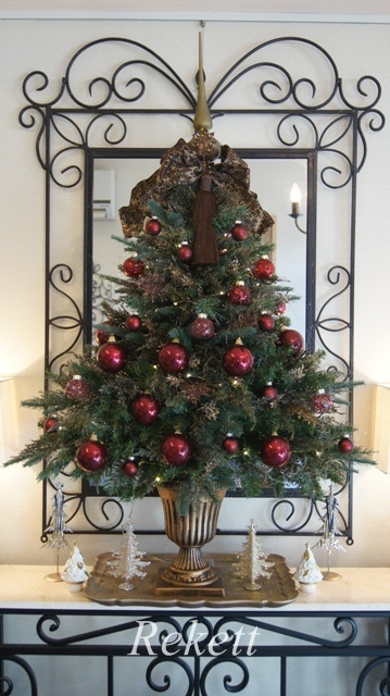 お客様オーダーアンティーク調クリスマスツリー完成致しました~❤_f0029571_23510019.jpg