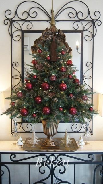 お客様オーダーアンティーク調クリスマスツリー完成致しました~❤_f0029571_23511499.jpg